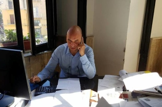 angelo cambiano a lavoro