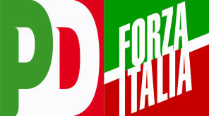logo pd e forza italia